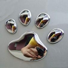 3D Dog Paw Print