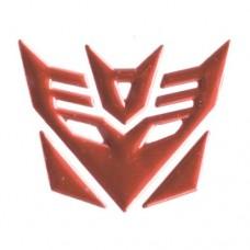 3D Transformers Decepticons Symbol