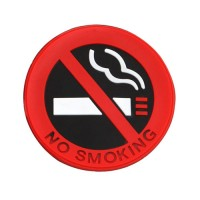 3D No Smoking Sign