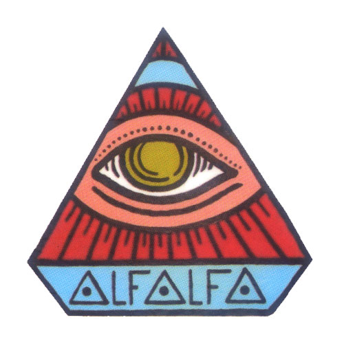 Abstract Art Eye Pyramid