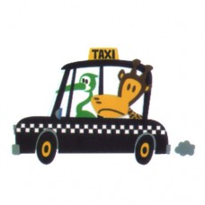 Animals In Taxi