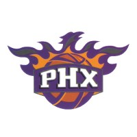 Phoenix Suns PHX Basketball Team Logo