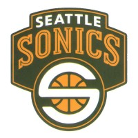 Seattle Sonics Basketball Team Logo