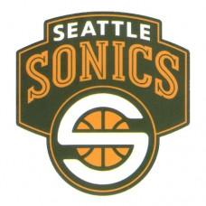 Seattle Sonics Basketball Team Logo