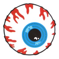Abstract Bloody Eyeball