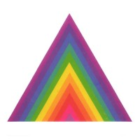 Abstract Colourful Pyramid Triangle