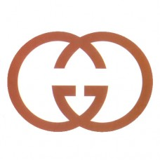 Gucci Brown Logo