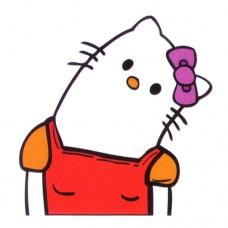 Hello Kitty Head Turned