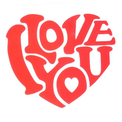 Love Shape I Love You