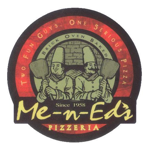 Me-n-Ed's Pizzeria Logo