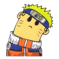 Naruto Uzumaki Head Turned