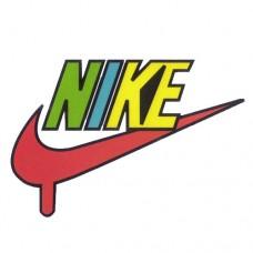 Nike Coloured Logo
