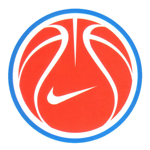 Nike Red Basketball
