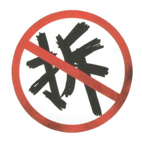 No Discount in Mandarin Sign