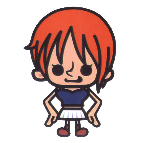 One Piece Nami Big Head