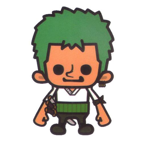 One Piece Roronoa Zoro Big head