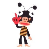 Paul Frank in Bee Suit