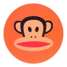 Paul Frank Head Orange Circle