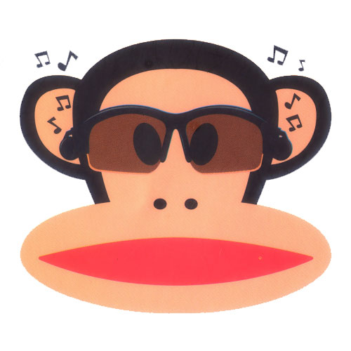 Paul Frank Head with Music Player