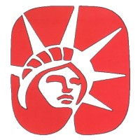 Red Statue of Liberty Head