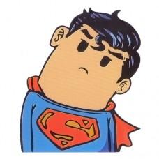 Superman Head Turned