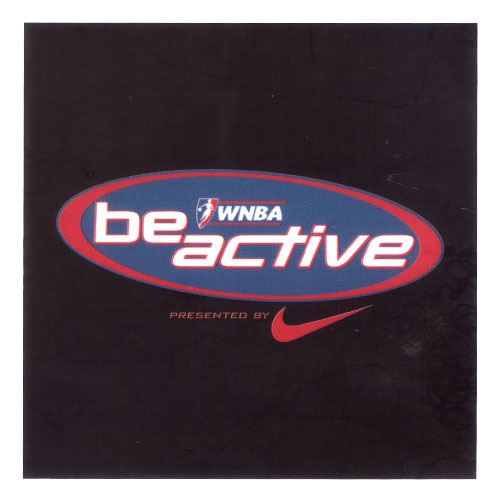 WNBA Be Active Logo