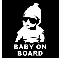 Baby On Board Vinyl Decal