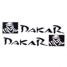Dakar Vinyl Decal