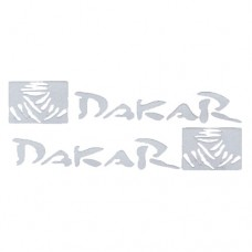 Dakar Vinyl Decal