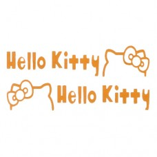 Hello Kitty Vinyl Decal