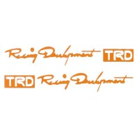TRD Racing Development Vinyl Decal
